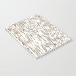 Wood Grain - Brown Notebook