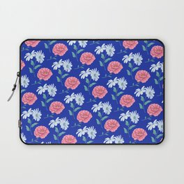 daisy and rose seamless pattern Laptop Sleeve