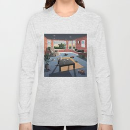 "Hippo Campus - ""Landmark"" Lyrics Long Sleeve T-shirt"