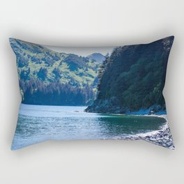 Kodiak Beach Photography Print Rectangular Pillow