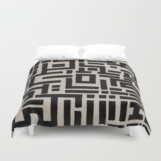 Trip Hop In The City Duvet Cover
