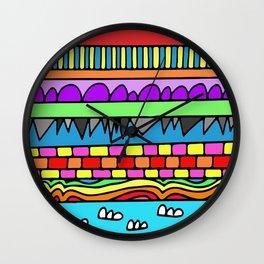 rando  Wall Clock