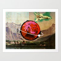 science Art Prints featuring Science by Trey Crim
