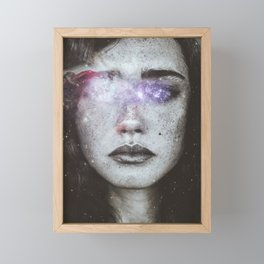 Blind love Framed Mini Art Print