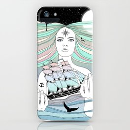 Journey to A Greater Existence (Your Life On Your Hands) iPhone Case