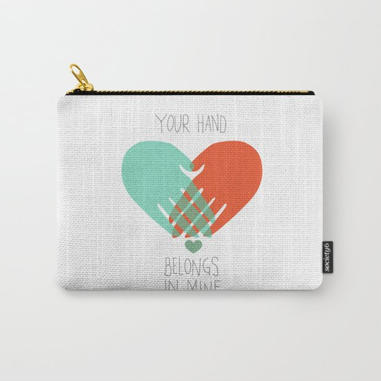 I wanna hold your hand Carry-All Pouch