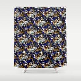 Stuff Tile 1 Shower Curtain