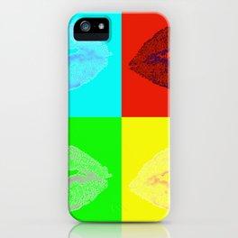 Lip Quad iPhone Case