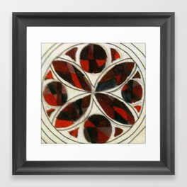 Glass 2 Framed Art Print