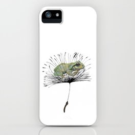 Frog in Seed iPhone Case