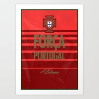 portugal Art Prints featuring Portugal by liamhohoho