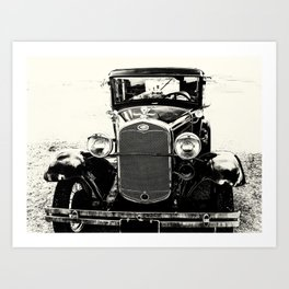 Model A Ford Art Print