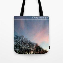Crispy Mornings Tote Bag