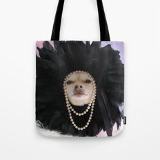 Chihuahua Vogue  Tote Bag