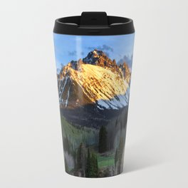 Mt Sneffels Sunset in Ridgway, Colorado Travel Mug