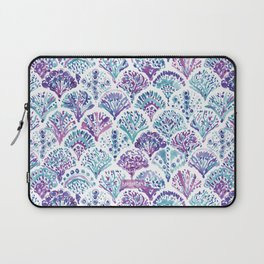CORAL CAMO Mystical Purple Mermaid Scales Laptop Sleeve