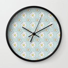 Fresh As A Daisy (Duckegg) Wall Clock