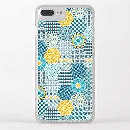 Spanish Tiles of the Alhambra Clear iPhone Case