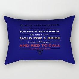 Shadowhunter Nursery Rhyme Rectangular Pillow