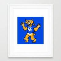 kentucky Framed Art Prints featuring Kentucky by jublin