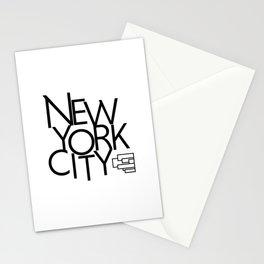 New York City - Building Sideways - 57 Montgomery Ave Stationery Cards