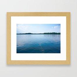 Open Waters Framed Art Print