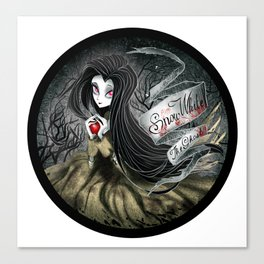 Snow White - The Ghost Canvas Print