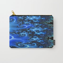 Blue Lace Carry-All Pouch