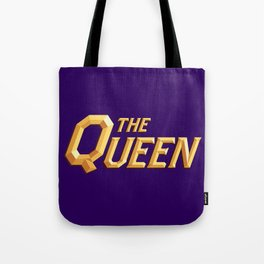 The Queen Full Logo Tote Bag