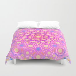 Dotted Mandala Duvet Cover