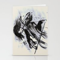 cello Stationery Cards featuring Cello Song by sladja