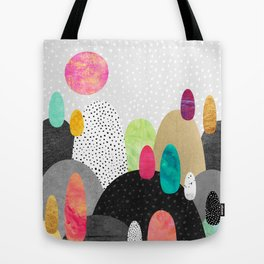 Little Land of Pebbles Tote Bag