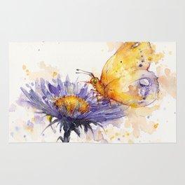 Flowers & Flutters Rug