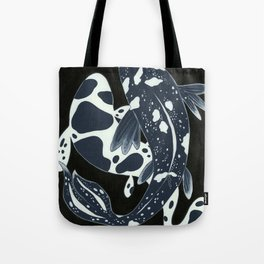 Starry Night Koi Tote Bag