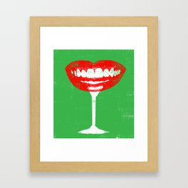 Giggle Juice Framed Art Print
