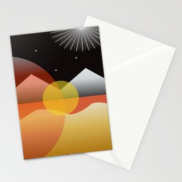 Solar Flares Stationery Cards