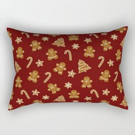 Gingerbread Rectangular Pillow