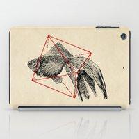fish iPad Cases featuring Fish In Geometrics III by Florent Bodart / Speakerine