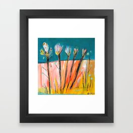 SUMMER SHARDS Framed Art Print