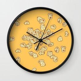 Popcor fever Wall Clock