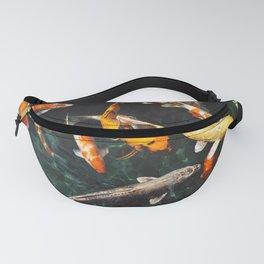 Geometric Koi Fishes Fanny Pack