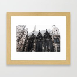 St. Stephen's cathedral Framed Art Print