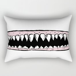 Teeth. Rectangular Pillow