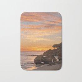 sunset afterglow, Portugal Bath Mat