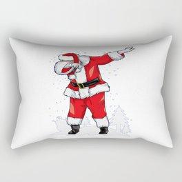 Best santa claus dabbing Rectangular Pillow