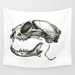 Cat Skull Wall Tapestry