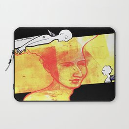 NEVER ALONE Laptop Sleeve