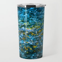 Water Color - Yellow Travel Mug