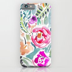 Walk in the Park Floral Slim Case iPhone 6s