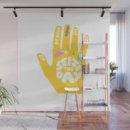 Seize the day – Sunshine hand Wall Mural